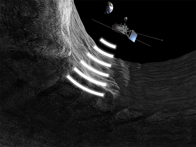 Detection of intact lunar lava tubes in the data from Kaguya radar sounding