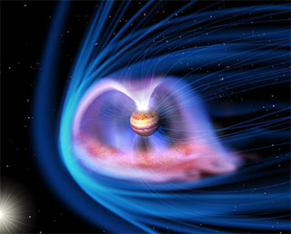 """Hisaki"" (SPRINT-A) captures the powerful Jovian auroras caused by the solar winds"